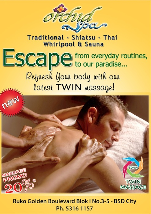 Twin Massage Promo